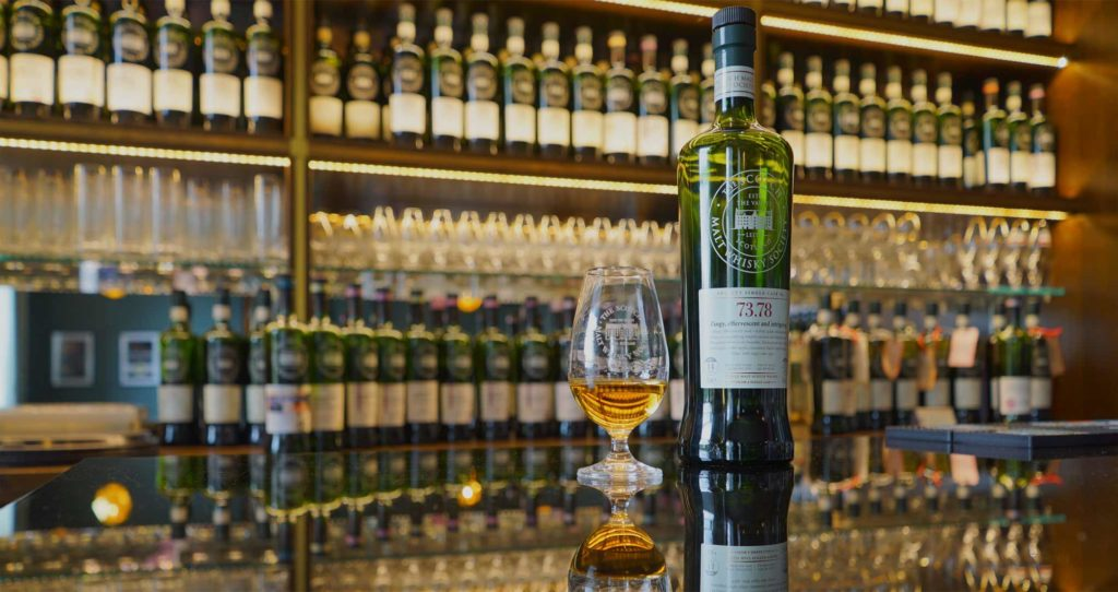 Eat Walk Edinburgh SMWS single cask whisky