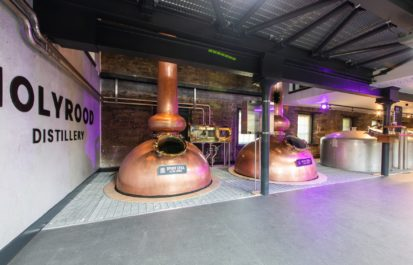 Edinburgh tours discount: Holyrood distillery stills